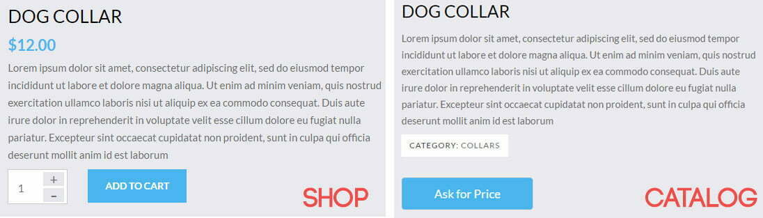 WooCommerce Catalog