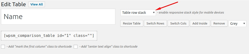 Best Free Responsive Comparison Table Plugin for WordPress 5