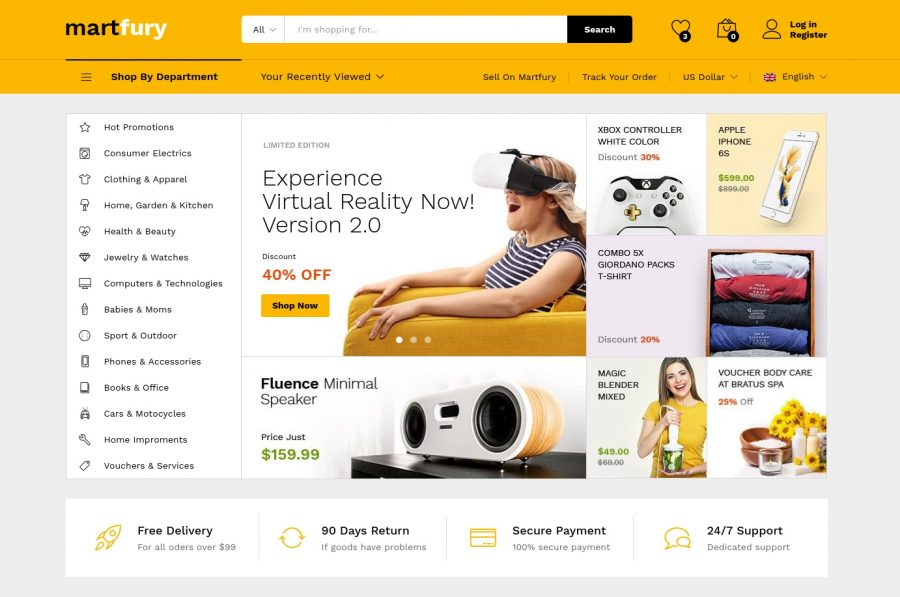 8 High-Quality WooCommerce WordPress Supermarket Themes 11