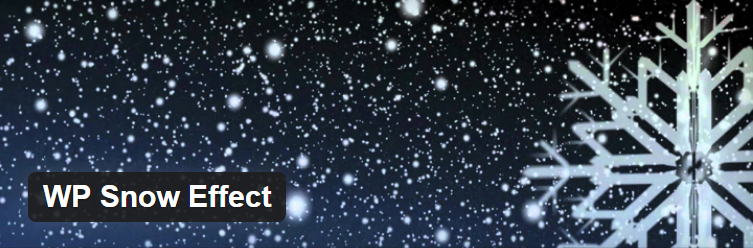 3 Free Plugins to Add Snow Effect to Your WordPress Blog (and Slides) 2