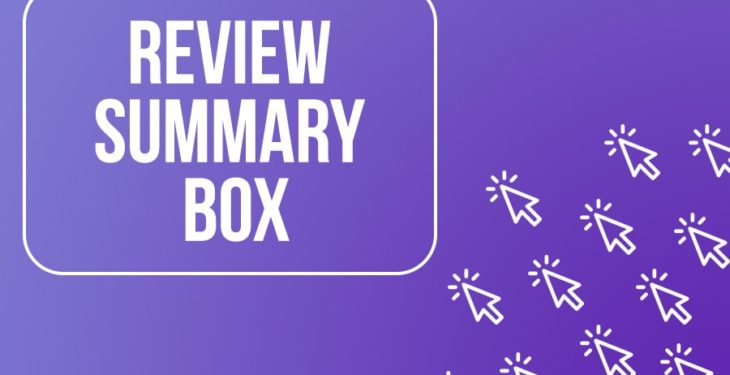 Add Summary Box to your Reviews to Increase Conversions (Free Template) 36
