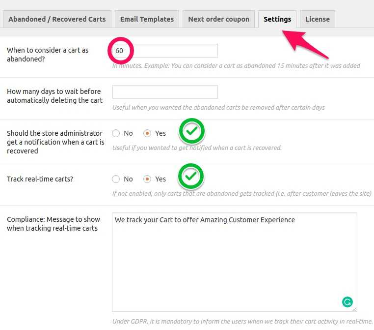 How to Recover Abandoned Carts in WooCommerce? 13