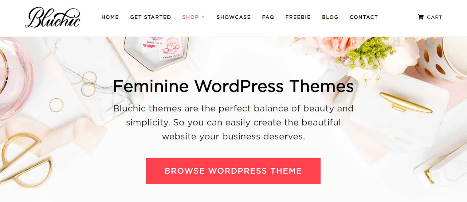 Feminine Blog Themes - The Best WordPress Themes for any Fashion, Beauty, Lifestyle Blog 5