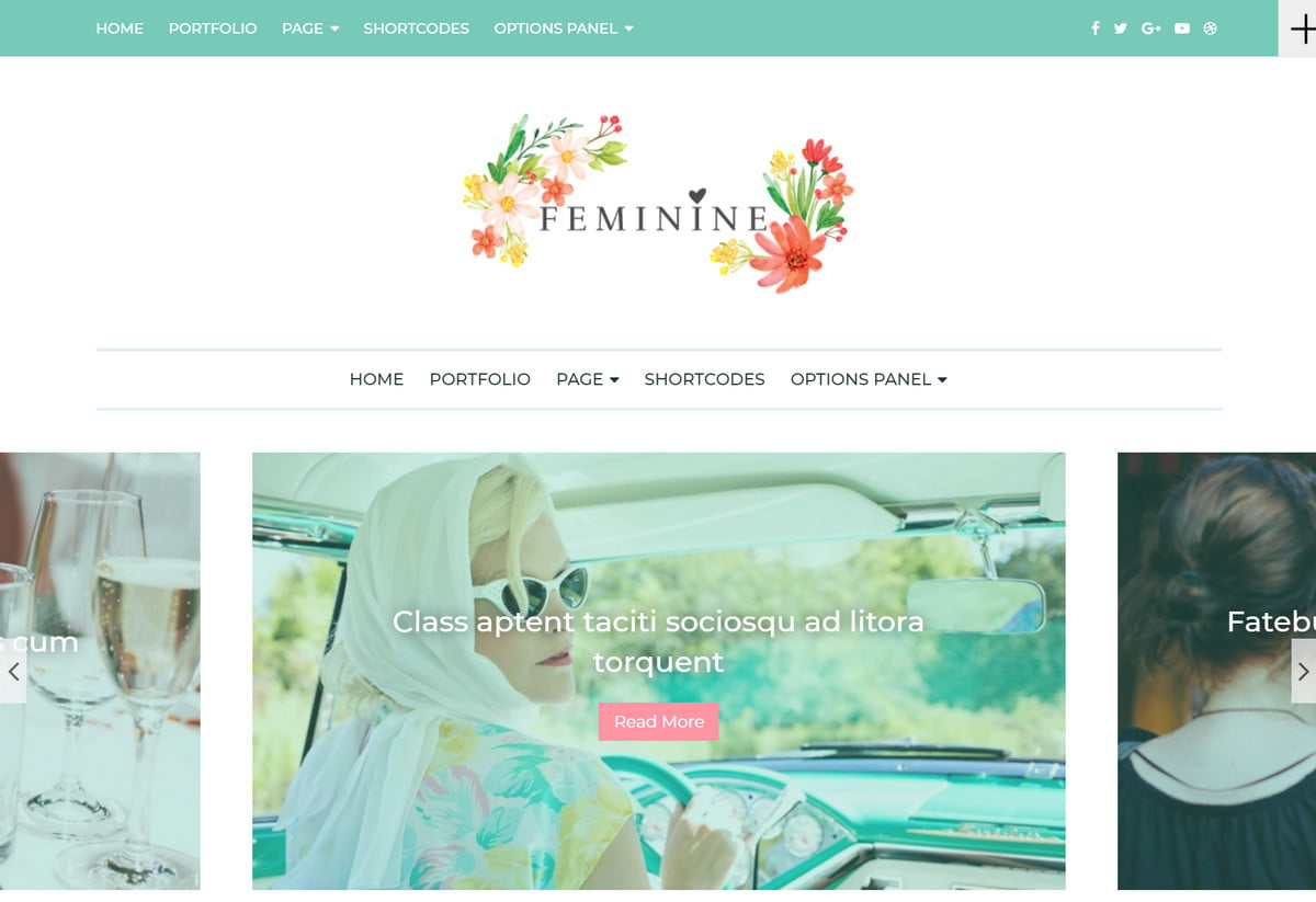 Feminine Blog Themes - The Best WordPress Themes for any Fashion, Beauty, Lifestyle Blog 2
