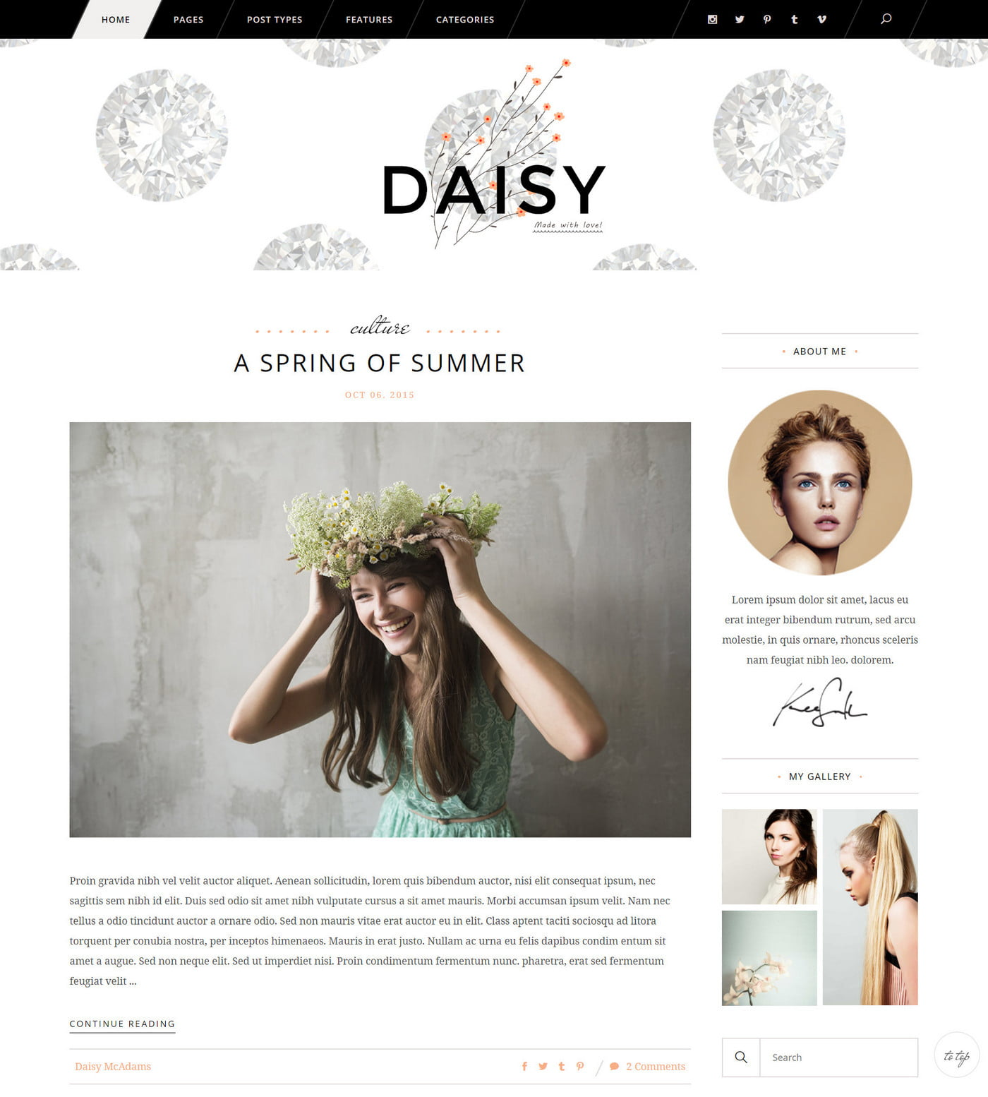 Feminine Blog Themes - The Best WordPress Themes for any Fashion, Beauty, Lifestyle Blog 4