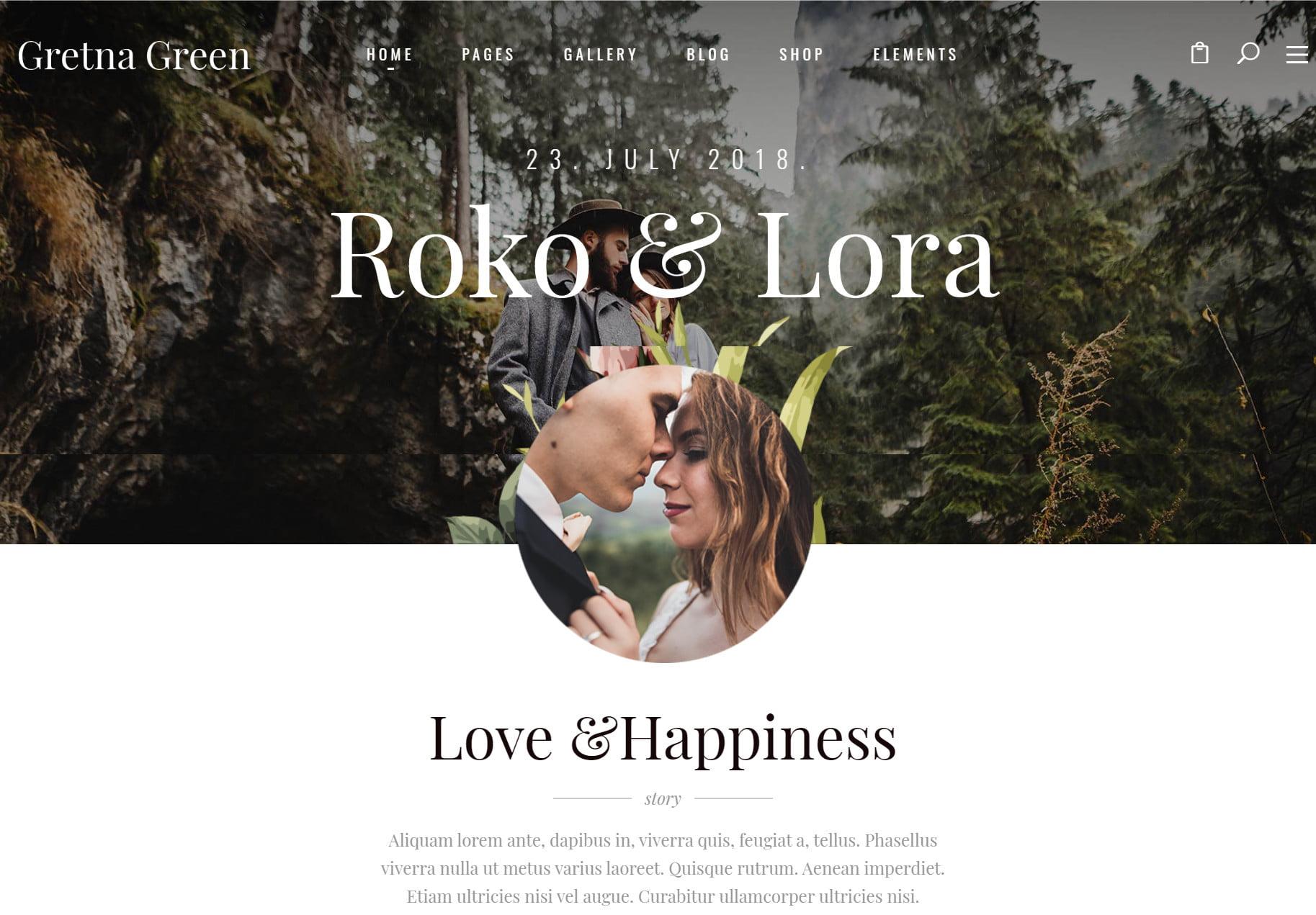 Next Level Wedding Invitation - Create Your Own Website 6