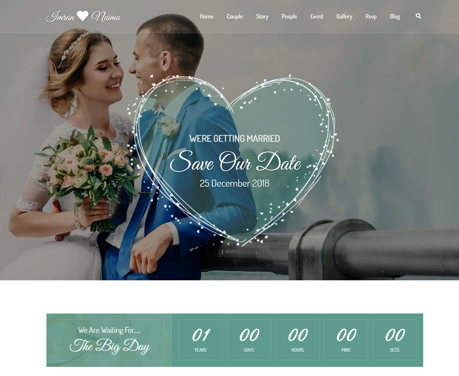 Next Level Wedding Invitation - Create Your Own Website 7