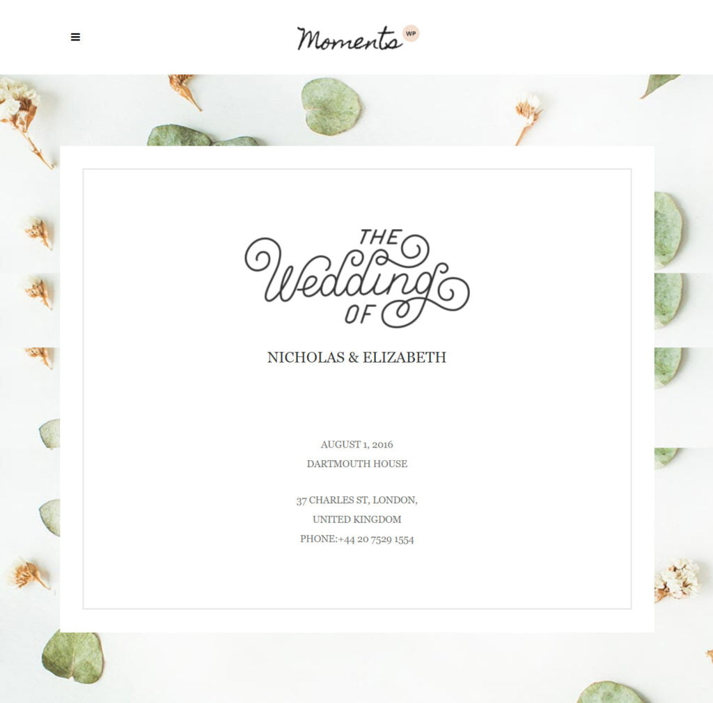 Next Level Wedding Invitation - Create Your Own Website 5