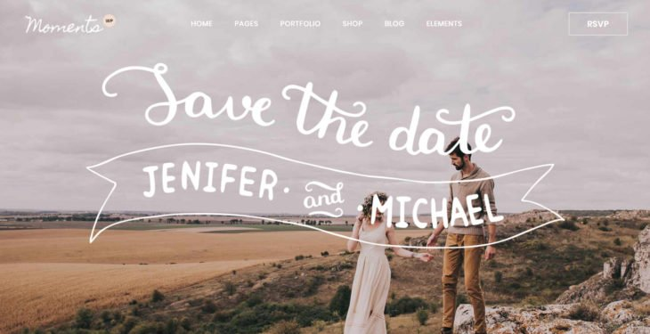 Next Level Wedding Invitation - Create Your Own Website 1