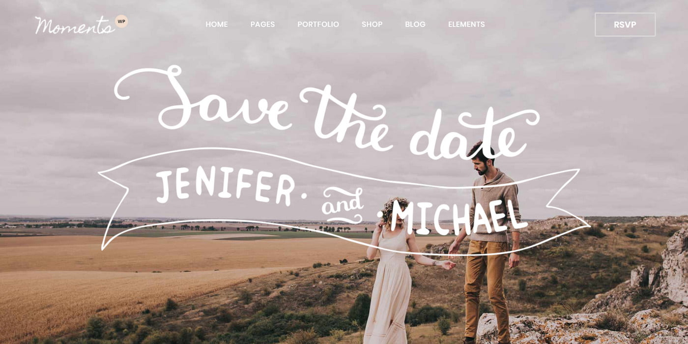 Next Level Wedding Invitation - Create Your Own Website 4