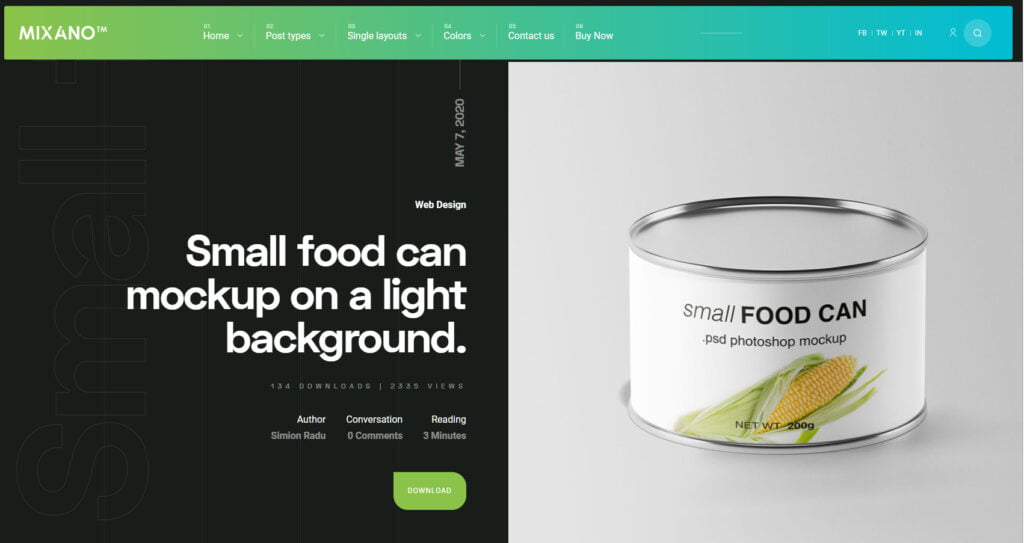 7 Themes to start Freebies Website with WordPress (+Helpful tips) 6