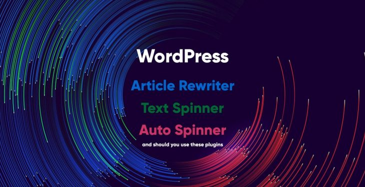 Should you use an Article rewriter?